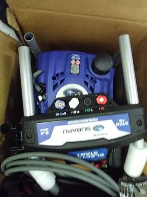 Brand new in the box Subaru gas powered pressure washer for Sale in Seattle, WA