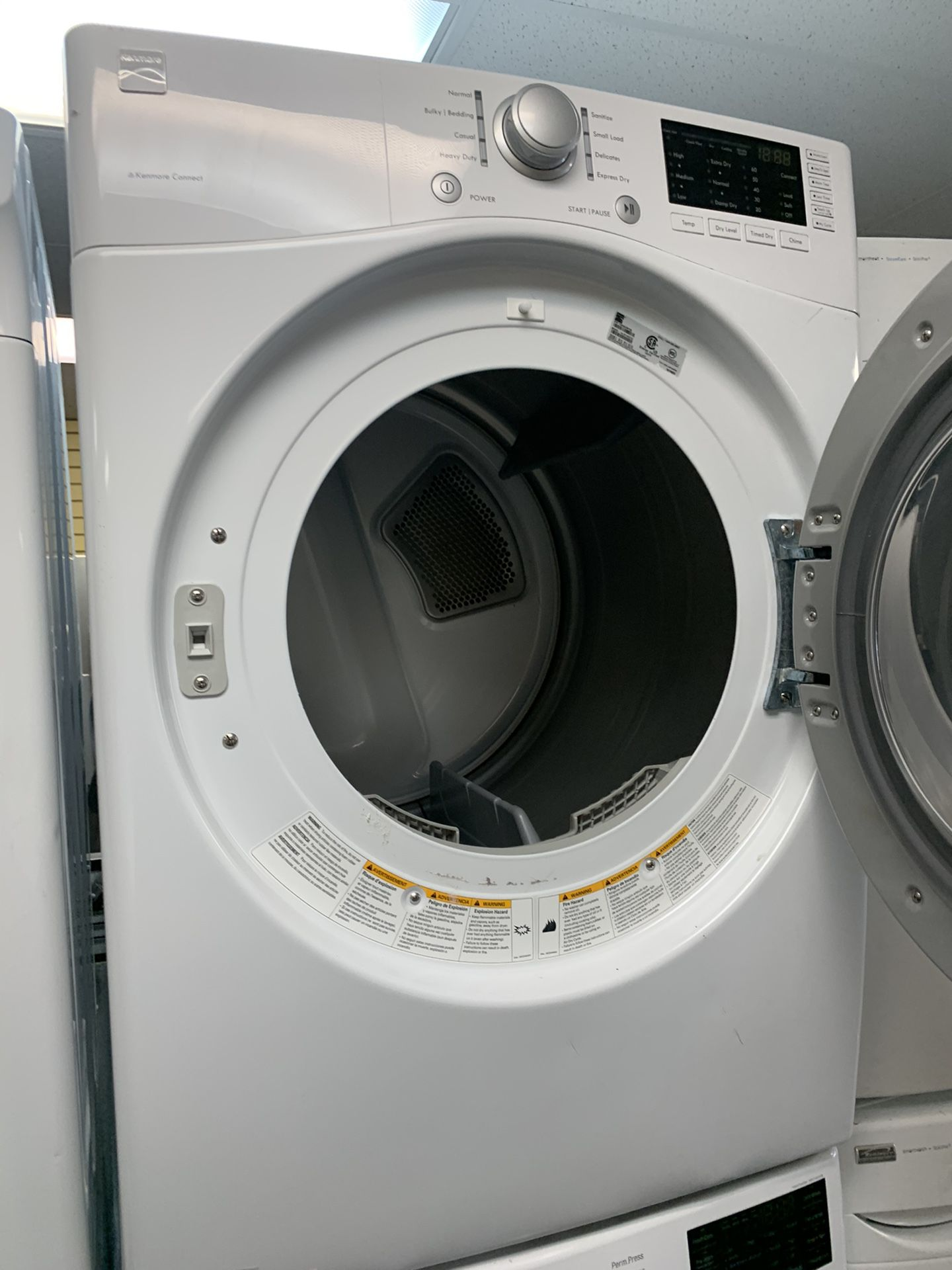 LG FRONT LOAD WASHER AND KENMORE ELECTRIC DRYER SET IN EXCELLENT CONDITION
