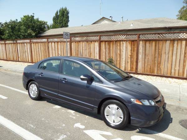 2006 Honda Civic Hybrid Gas Saver Drives Good 130k Miles Registered For In Castro Valley Ca Offerup