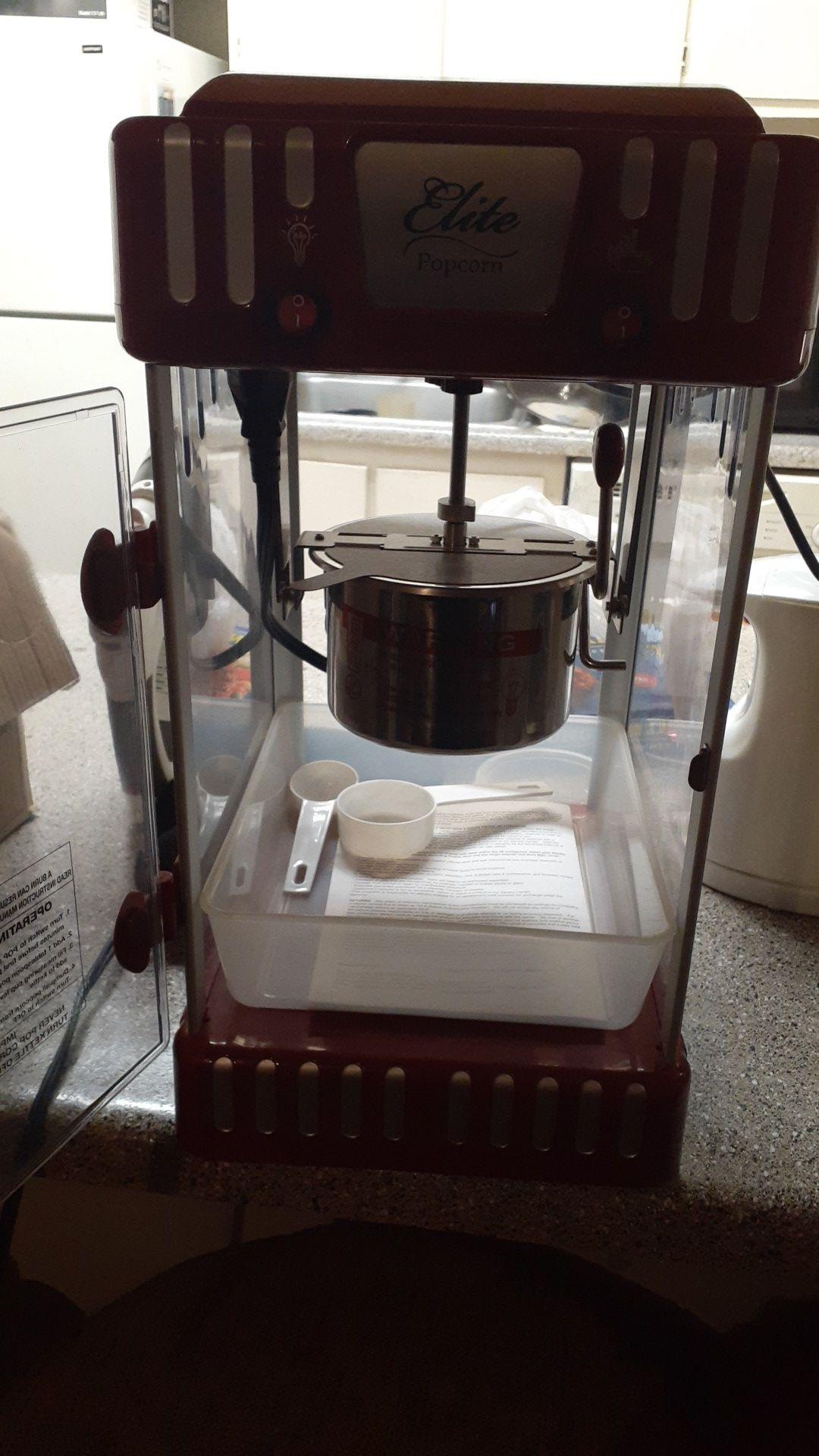 Elite popcorn maker 2.5oz