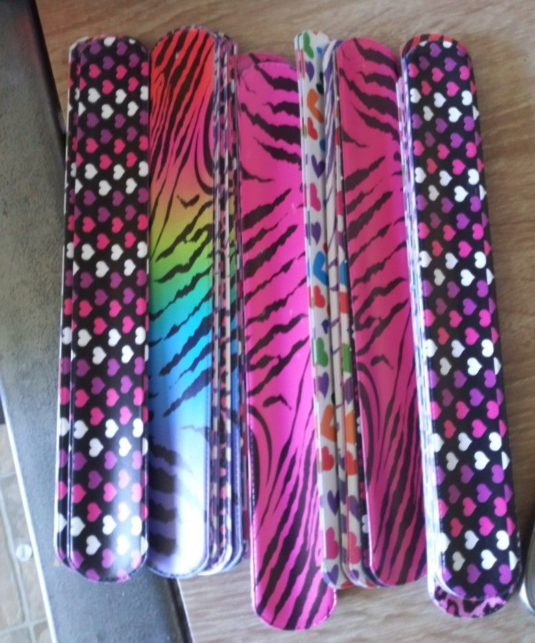 New Slap Bracelets Package Of 50