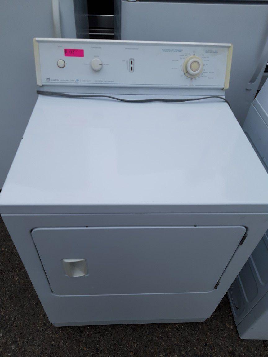 Dryer maytag