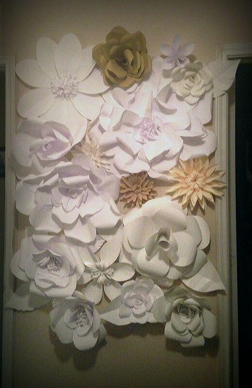 Paper Flower Backdrop For Sale In San Antonio Tx Offerup