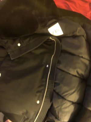 ab9f24ff Zara Black jacket with fleece hoodie for Sale in Everett, WA
