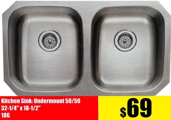 Stainless Steel Kitchen Cabinet Countertop Sink under ...