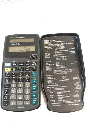 Texas Instruments Ti 36x Solar Scientific Calculator For Sale In