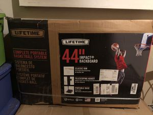 Basketball Hoop for sale. Already assembled. Never used. for Sale in Ashburn, VA
