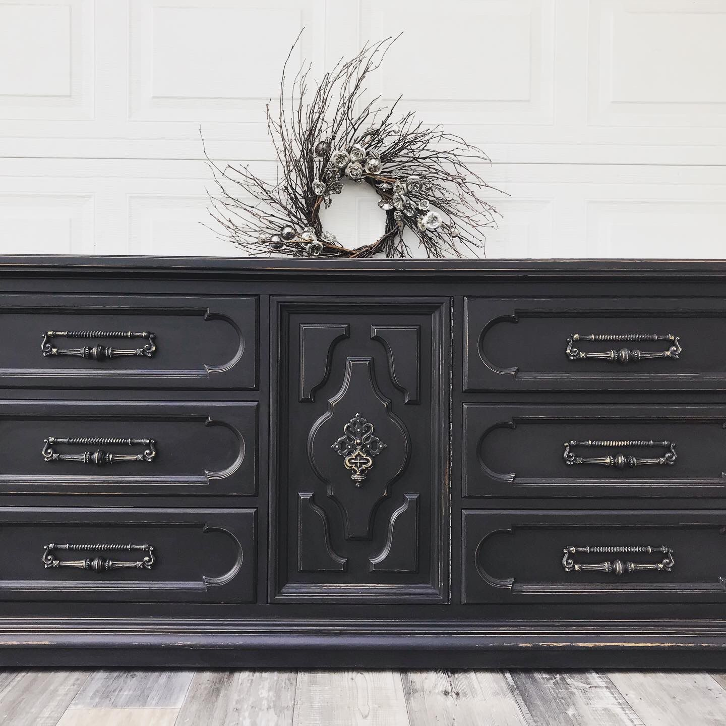 Customize your antique furniture !!! Free estimates !!! Dresser tv stand wood end table buffet sideboard