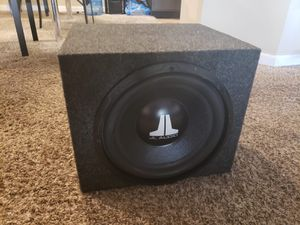 """Photo Subwoofer 12"""" Jl Audio 500 Watts 4 ohms in good condition"""
