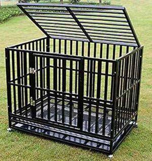 Photo Heavy Duty Dog Cage - XL