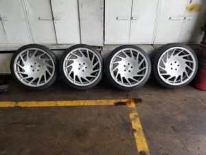 Vossen VLE1 20x10.5 squared 5x112 for Sale in Rockville, MD