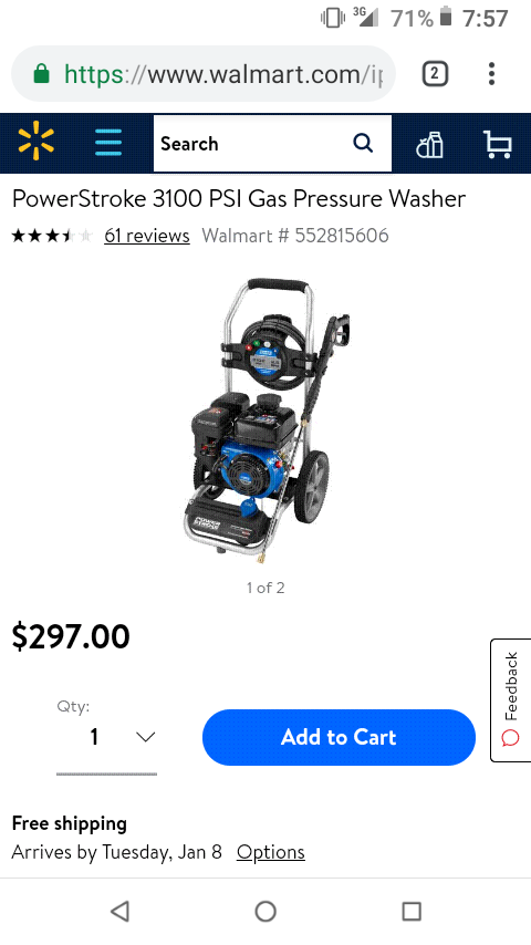New and Used Pressure washer for Sale in Downey, CA - OfferUp