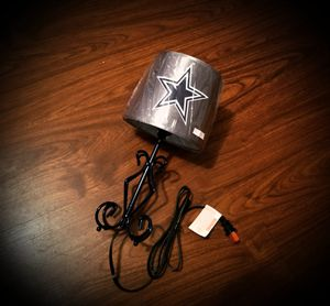 """Cowboys""""fanatic""""team lamp 4 ur home/office* business*mancave*gifts/anniversaries & more*brand new for Sale in Riverdale, GA"""