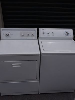 White Kenmore washer and dryer for Sale in Greensboro df3de8d1b345