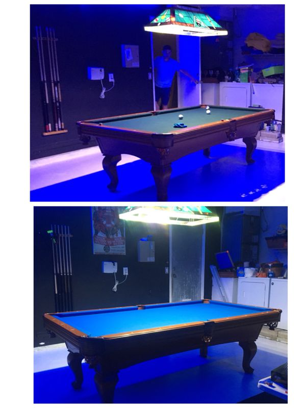 POOL TABLE REFELT For Sale In Miami FL OfferUp - How to refelt a pool table