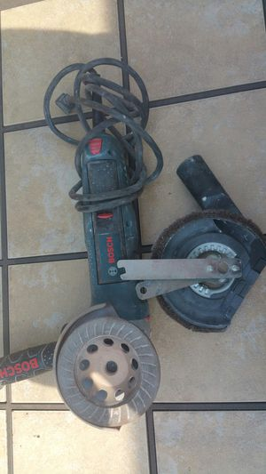 Bosch grinder for Sale in Apex, NC