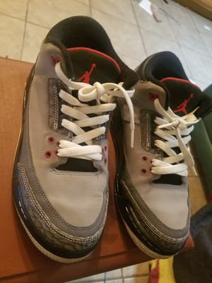 cheaper 3e651 29b03 Retro Air Jordan 3 Stealth 2011 Sz 5.5Y for Sale in Phoenix, AZ