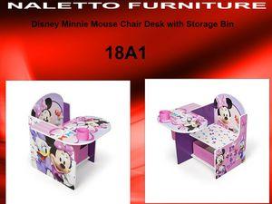 Excellent Disney Minnie Mouse Chair Desk With Storage Bin 18A1 For Sale In Dallas Tx Offerup Creativecarmelina Interior Chair Design Creativecarmelinacom