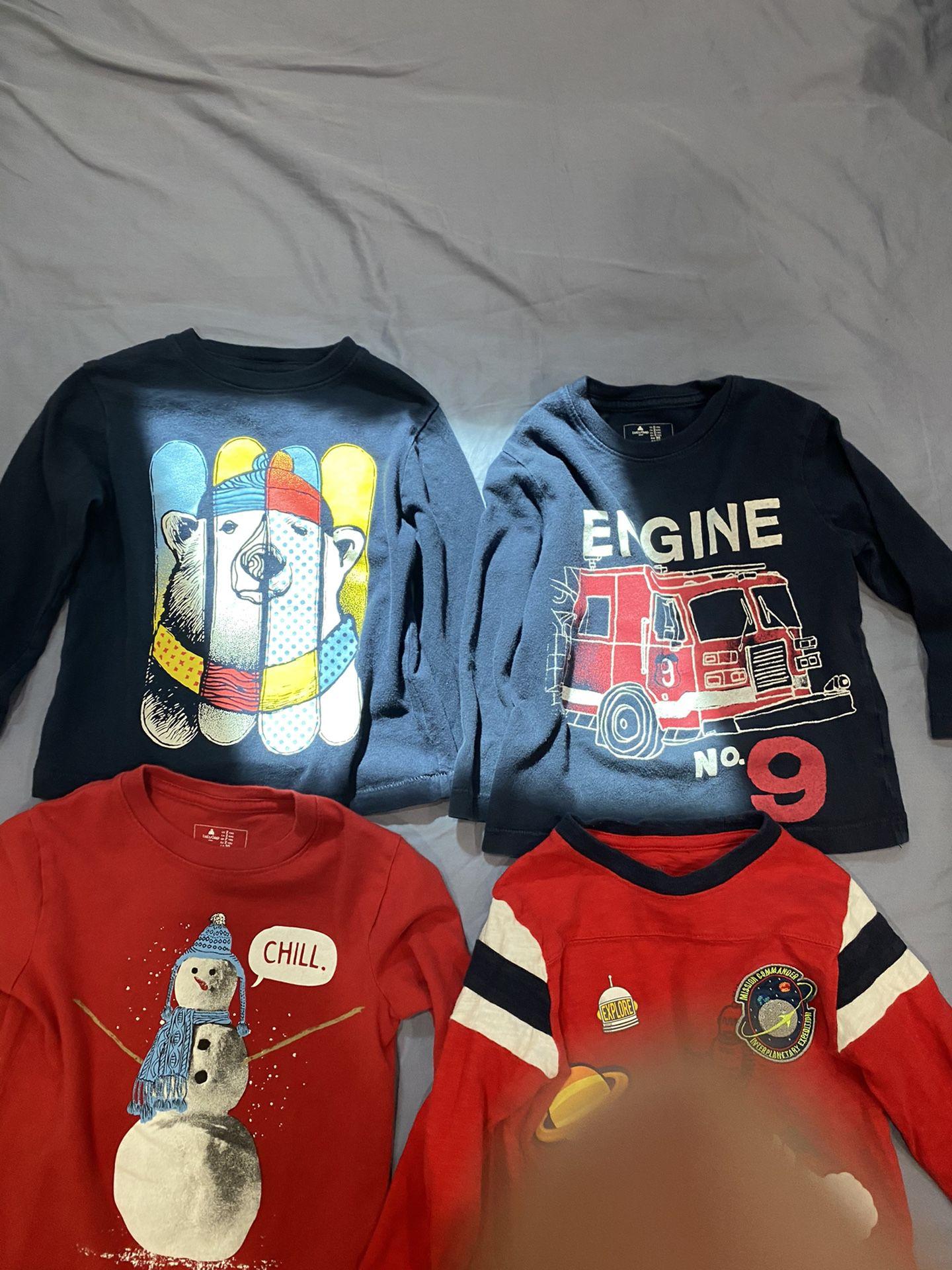 4-2T baby Gap toddler boy shirts