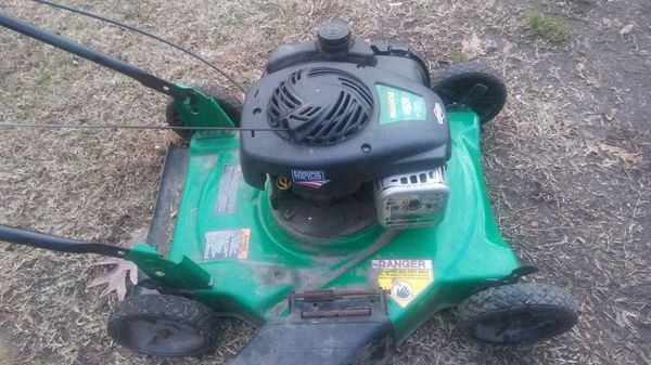 Stratton Overhead Valve Lawn Mower