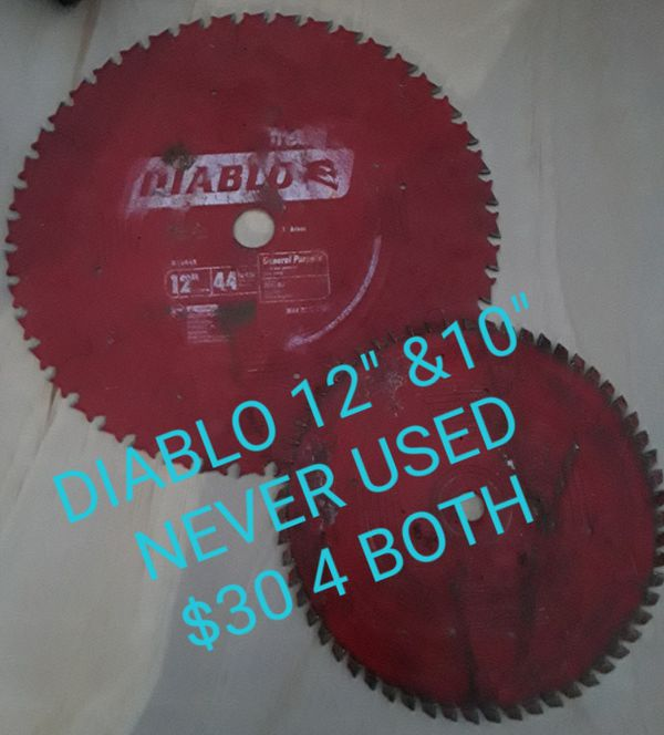 DIABLO SAW BLADES for Sale in Bakersfield, CA - OfferUp