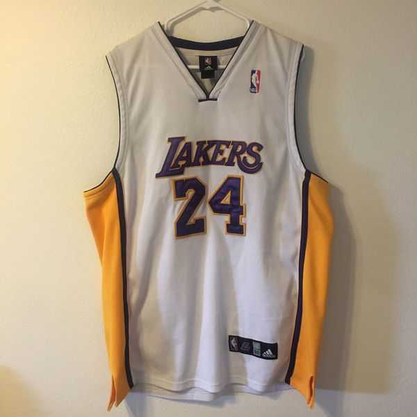 48709ade87e Los Angeles Lakers stitched adidas jersey Kobe Bryant #24 for Sale ...