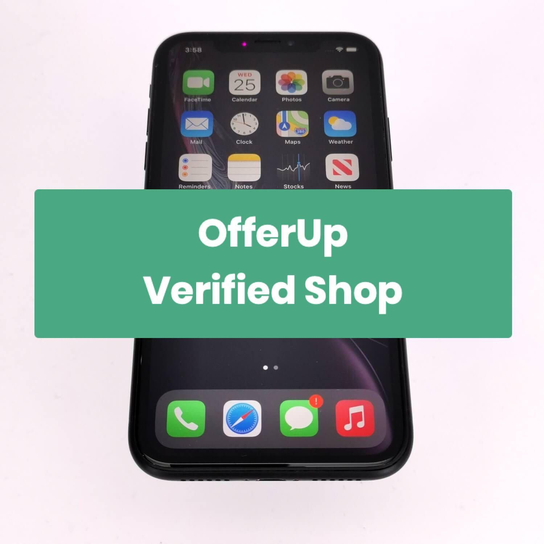 iPhone XR 64GB Black - Unlocked (Certified ProSeller)