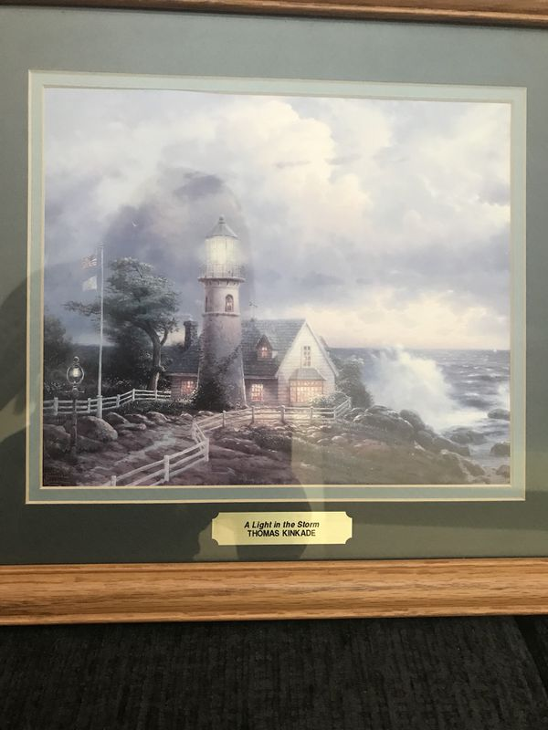 Small Thomas Kinkade Framed Picture For Sale In Fontana Ca Offerup