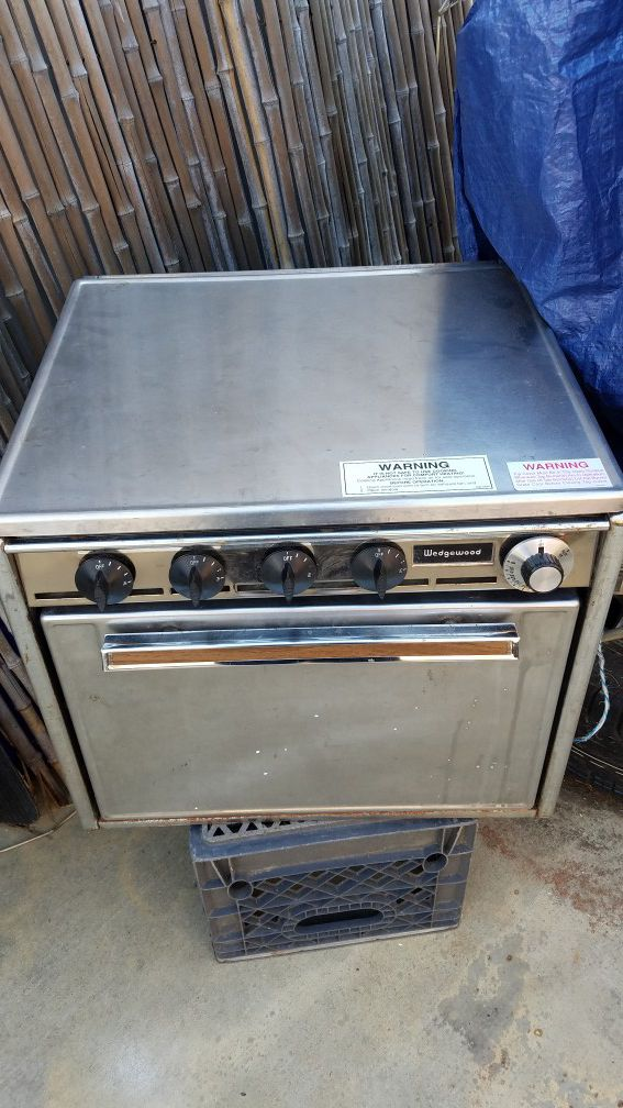 Rv Stove Oven >> Wedgewood Rv Stove 4 Burner Oven For Sale In Westminster Ca Offerup