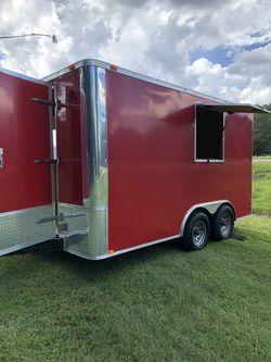 2013 Husky cargo concession trailer Thumbnail