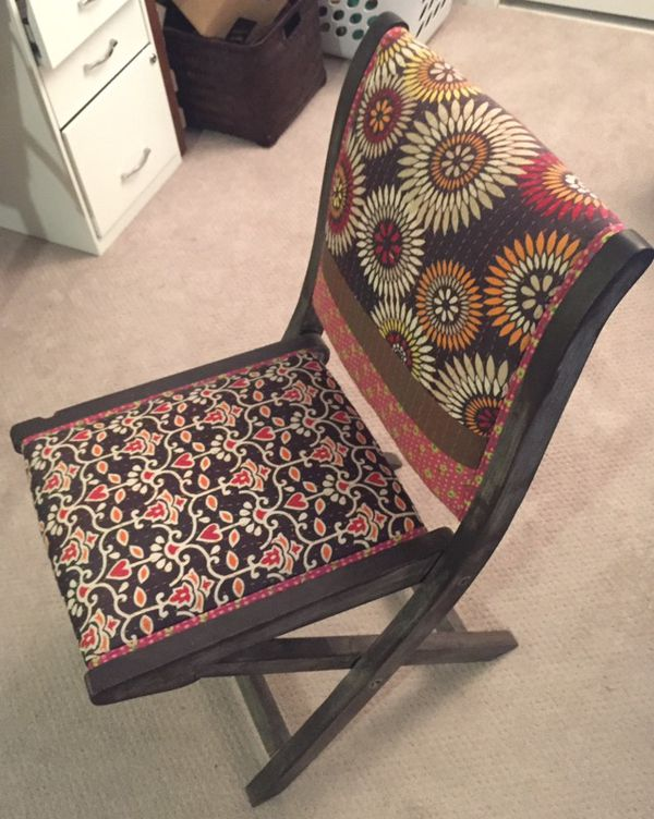 Admirable Anthropologie Terai Folding Chair Upholstered Eclectic Gmtry Best Dining Table And Chair Ideas Images Gmtryco