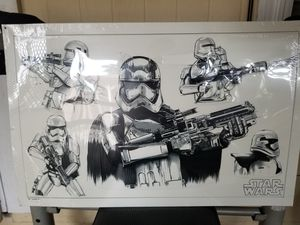 Star wars picture frame for Sale in Orlando, FL