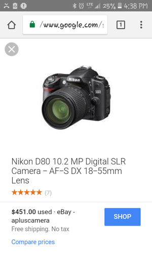 Used, Nikon digital camera d80 with additional lenses. for sale  Tulsa, OK
