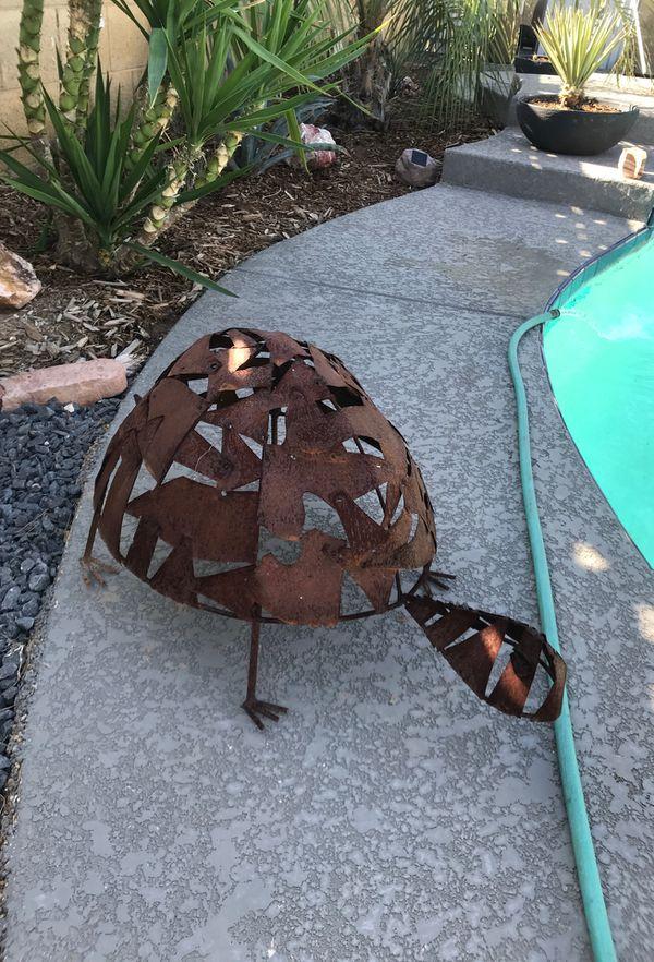 Rustic copper Metal turtle statue for Sale in Tempe, AZ - OfferUp