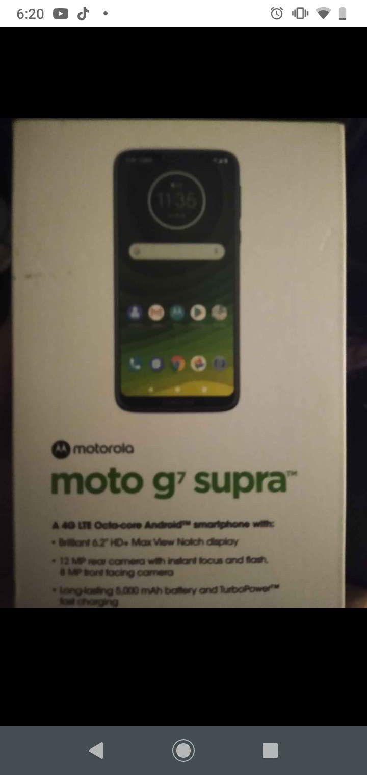 Pretty much new moto g7 supra