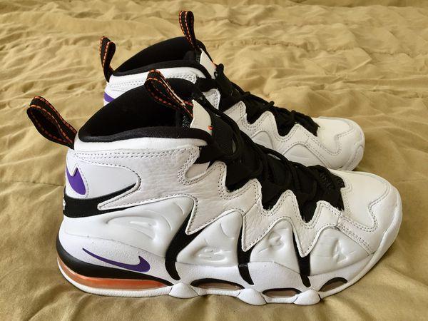 Nike Air Max CB34 Charles Barkley Suns White Purple Orange 414243 100 Mens  Size 7 NEW 1a93db9b4