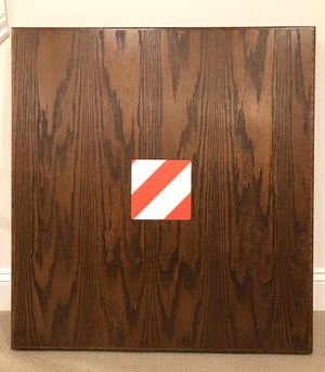 Photo New Square Oak Restaurant Tables - Never Used!