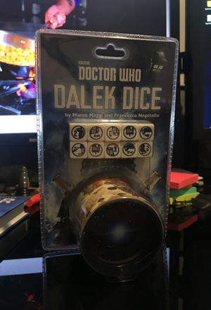 Doctor Who Dalek Dice Game for Sale in Seattle, WA