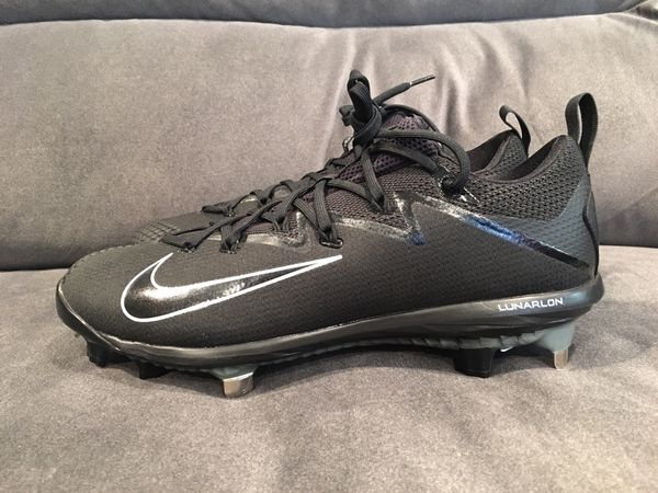 the best attitude 7c6ef 1dea5 Nike Lunar Vapor Ultrafly Elite Metal Baseball Cleats 10 12 available Black  Black