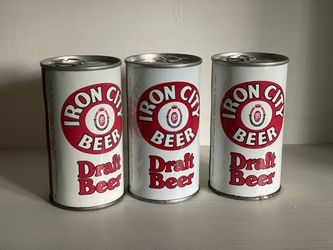 """Iron City """"Discover New Jersey"""" Collectible (Empty) Cans  Thumbnail"""