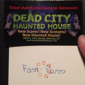 Dead City Haunted House Tickets for Sale in Alpine, UT