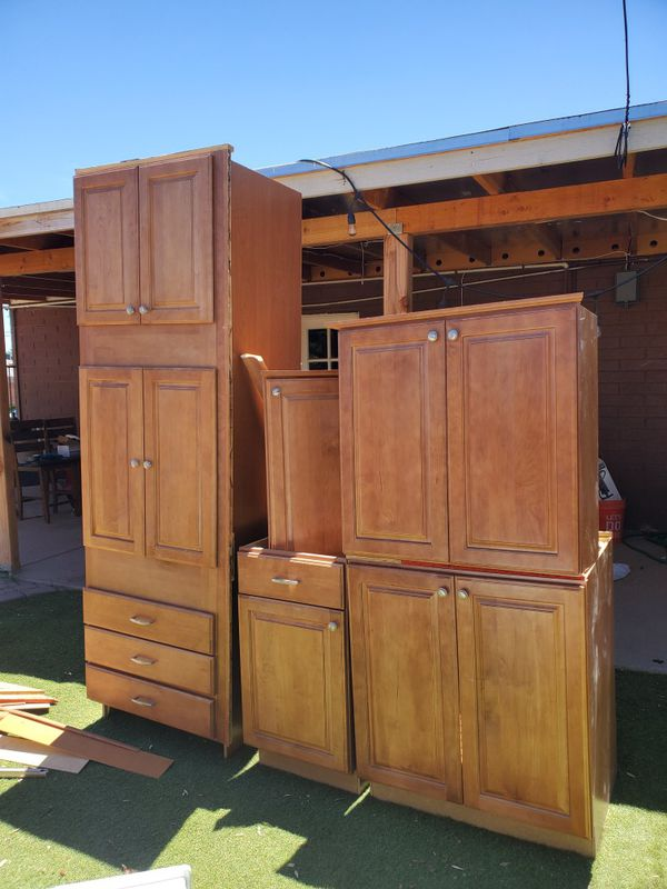 Real wood Kitchen cabinets for Sale in Phoenix, AZ - OfferUp