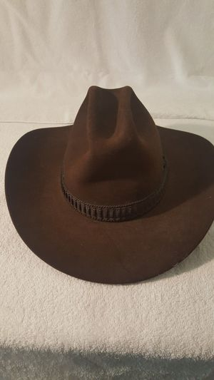 Authentic Stetson 4X Beaver Western Men's Vintage Hat - $40 (West Loop) for Sale in Chicago, IL