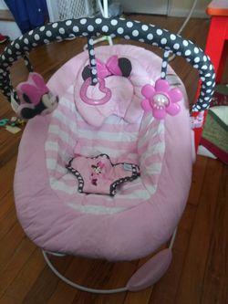 Disney minnie mouse plush bouncer Thumbnail