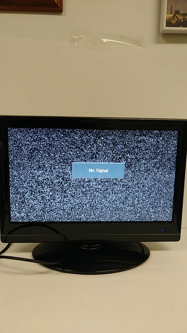 Insignia 19 inch tv hdmi & vga for Sale in Indian Orchard, MA - OfferUp