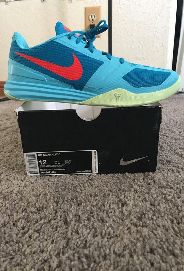 on sale a2c84 b6673 Nike KB Mentality Kobe Bryant Basketball Shoes