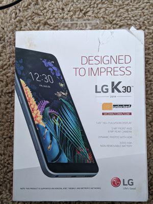 Photo LG K30 2019 16GB Unlocked Smartphone, Black