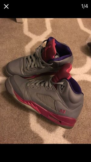 78e5c2e02c75 ... switzerland air jordan 5 retro cement grey pink flash raspberry red  electric purple for 0b22e 913c7