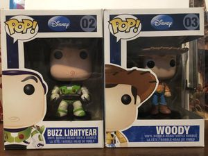 Toy Story Buzz & Woody Series 02 & 03 Funko Pop for Sale in Los Angeles, CA
