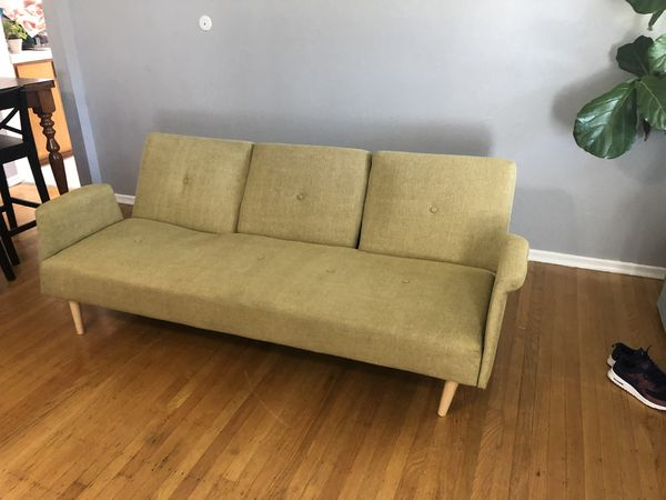 Terrific Green Futon Sofa For Sale In Sacramento Ca Offerup Pabps2019 Chair Design Images Pabps2019Com